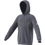 Adidas Cheer Arch Hooded Sweatshirt - Power Red - YM