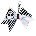 Nightmare For Christmas Jack Key Chain Bow