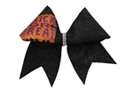 Trick Or Treat Sparkle Bow